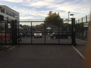 Haggerston School gates